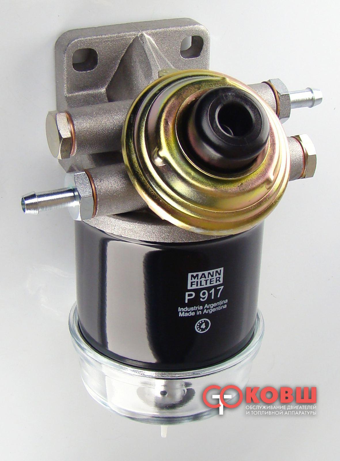 фильтр топливный с электроподогревом renault