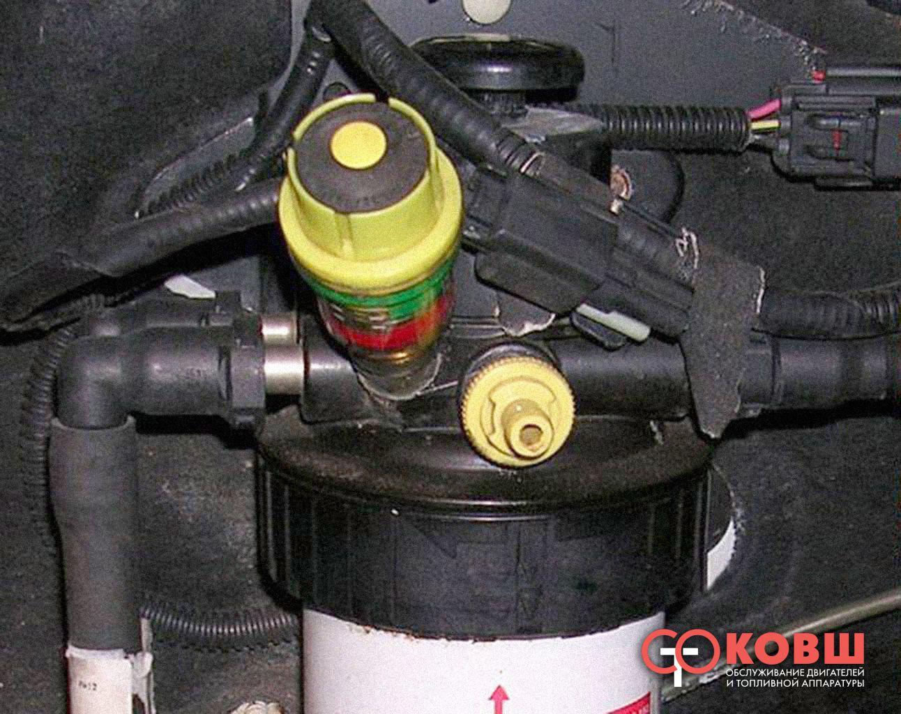 как часто забивается топливный фильтр toyota
