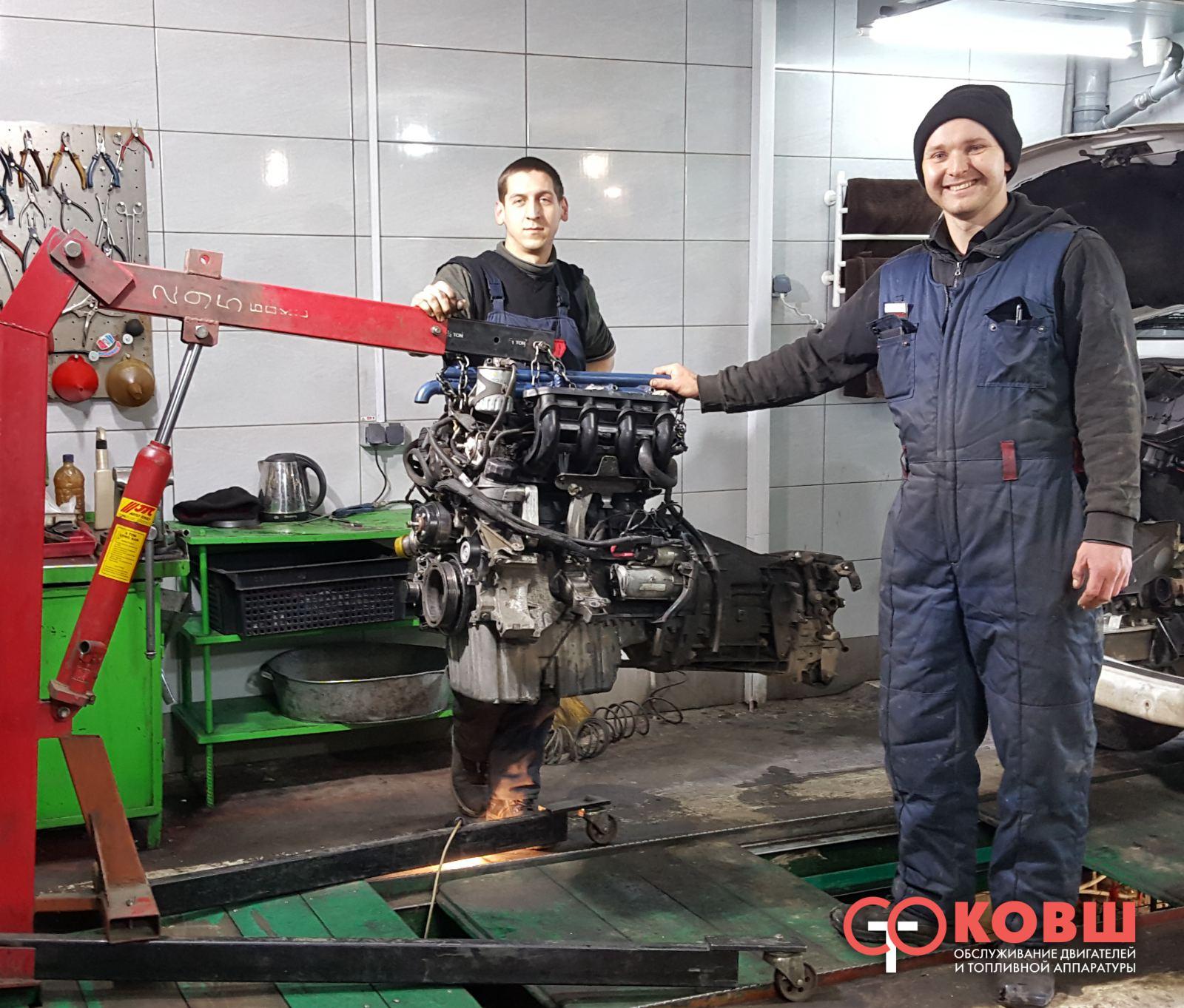 Сколько времени занимает ремонт двигателя
