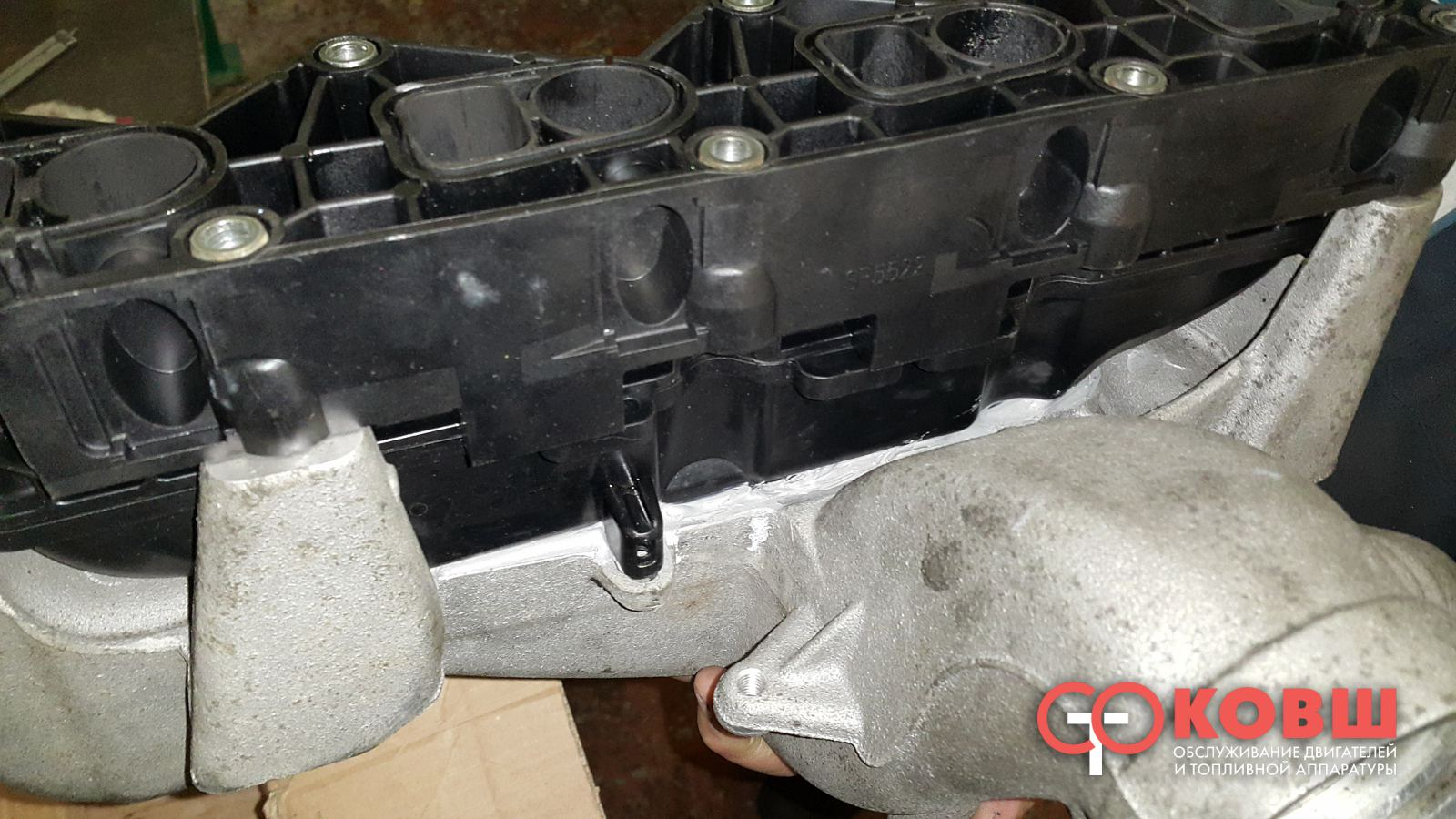 датчик во впускном коллекторе мерседес двигатель 646