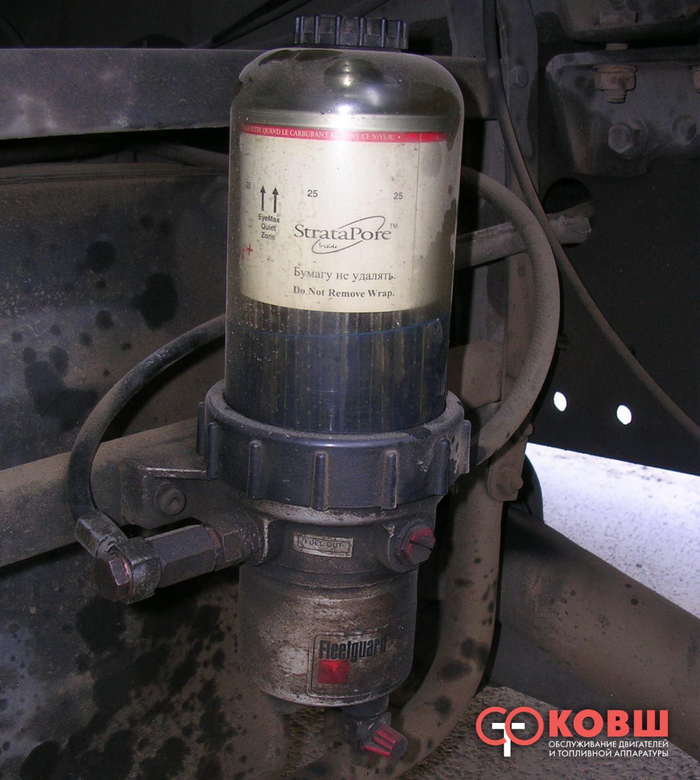 man схема системы подогрева топливного фильтра