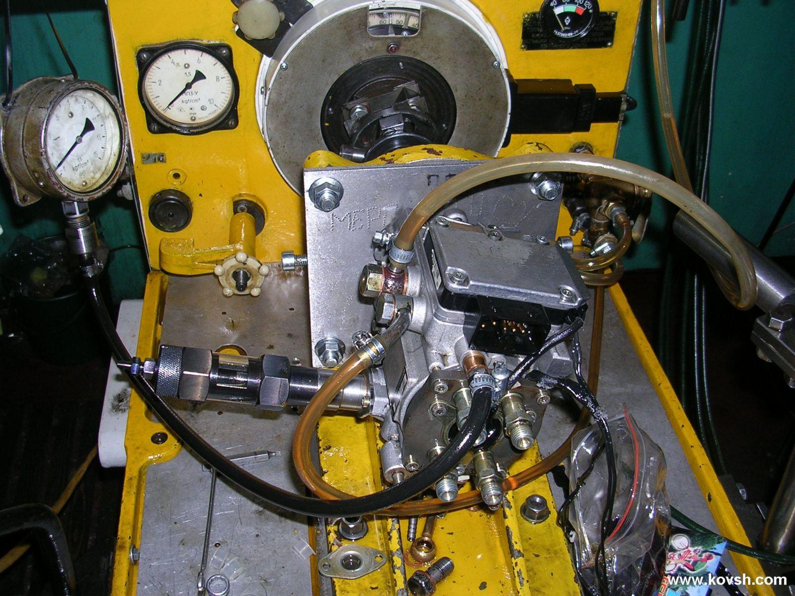 электрическая схема стенда для тнвд