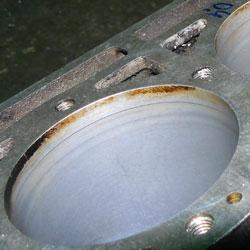 Примеры выработки в цилиндре